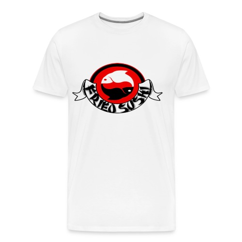 fried sushi logo t-shirt - Men's Premium T-Shirt