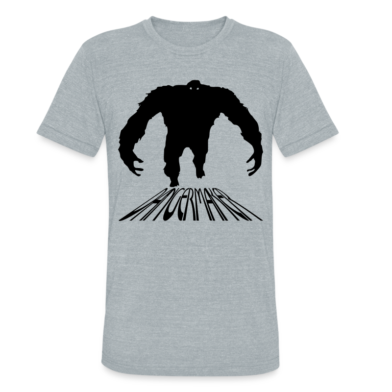 Unisex Monster AA Tee - Unisex Tri-Blend T-Shirt by American Apparel
