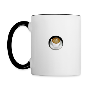 Wisegaming's Contrast Coffee Mug Logo - Contrast Coffee Mug