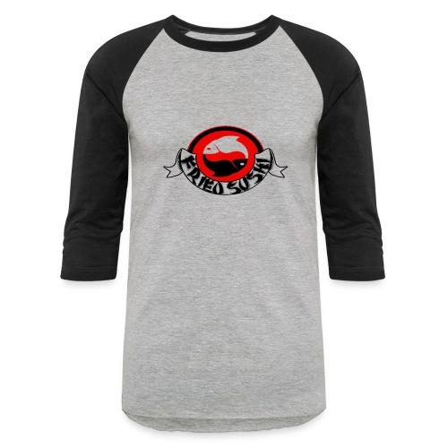 fried sushi logo baseball shirt - Baseball T-Shirt