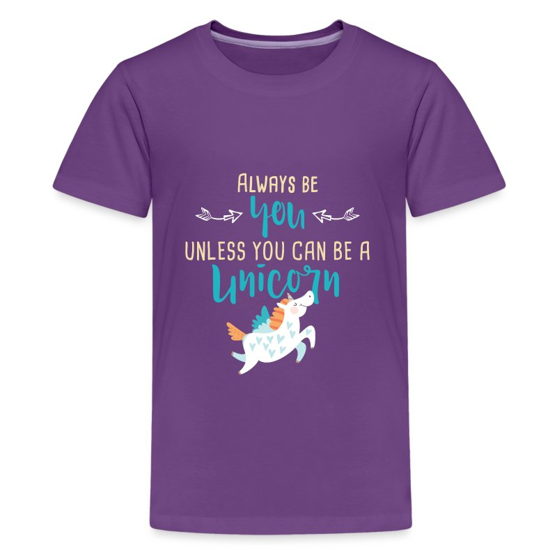 Always Be You or Unicorn - Kids' Premium T-Shirt