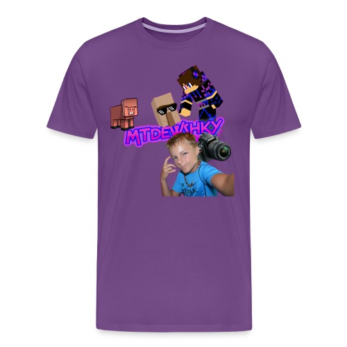 Men's Purple T-Shirt - Men's Premium T-Shirt