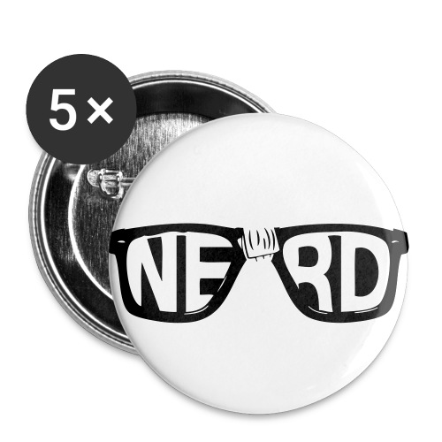 Small Nerd Buttons - Small Buttons