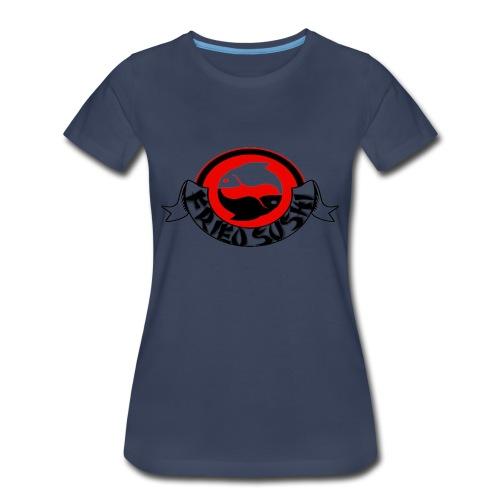 fried sushi logo womens T- shirt - Women's Premium T-Shirt