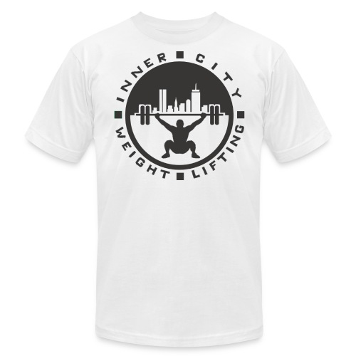 White ICW Mens T - Men's  Jersey T-Shirt