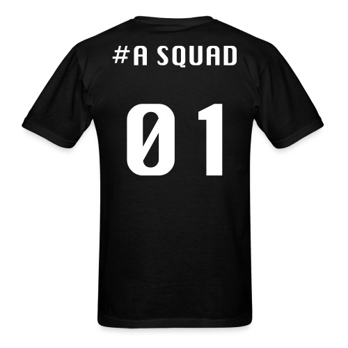 A Squad t-shirt(white font) - Men's T-Shirt