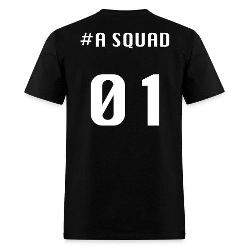 A Squad t-shirt(white font) - Men's T-Shirt