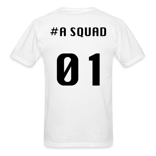 A Squad T-shirt(black font) - Men's T-Shirt