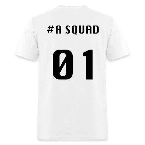 A Squad T-shirt(black font) - Men's T-Shirt