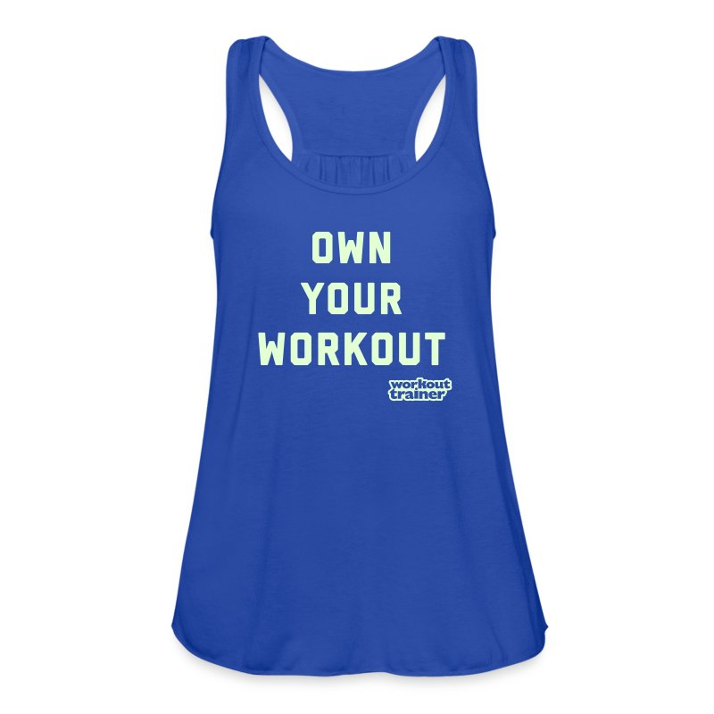 Own Your Workout - Women's Flowy Tank Top by Bella