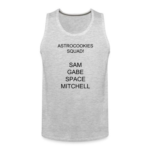 astrocookie squad tank top  - Men's Premium Tank