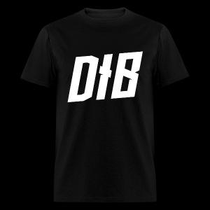 DIB White Logo - Men's T-Shirt