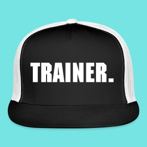 Hat TRAINER black - Trucker Cap