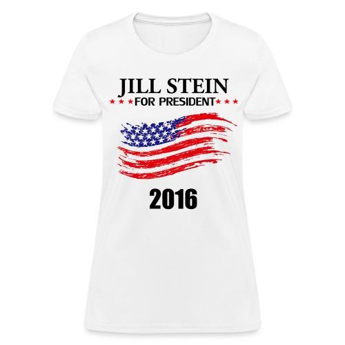 Women - Jill Stein 2016 - Women's T-Shirt