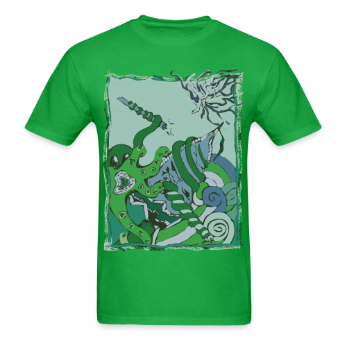 Groundwater - To The Depths  - Men's T-Shirt