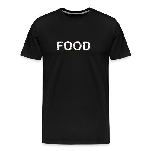 White sprinkles T-Shirt - Men's Premium T-Shirt