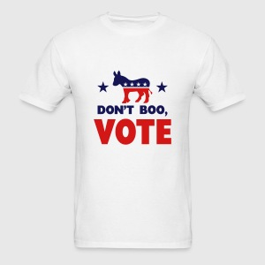 Don't Boo, Vote T-Shirts - Men's T-Shirt