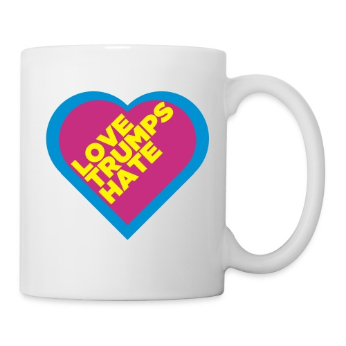 Love Trumps Hate Mug - Coffee/Tea Mug