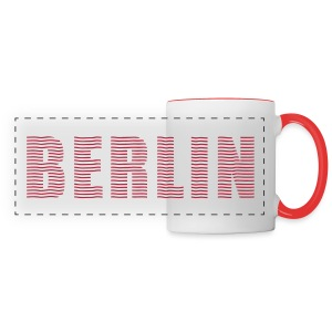 BERLIN lines-font - Panoramic Mug
