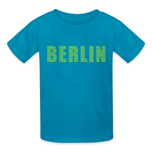 BERLIN lines-font - Kids' T-Shirt