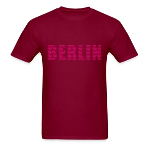 BERLIN lines-font - Men's T-Shirt