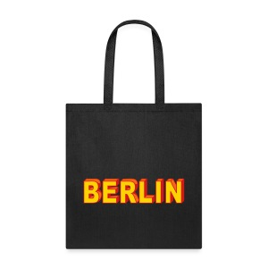 BERLIN block-font - Tote Bag