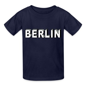 BERLIN block-font - Kids' T-Shirt