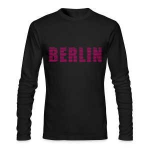BERLIN lines-font - Men's Long Sleeve T-Shirt by Next Level
