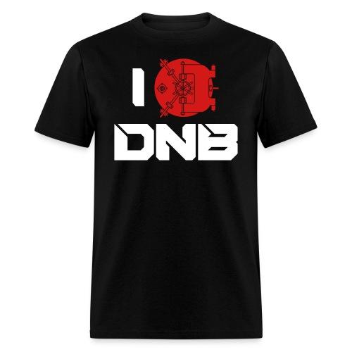 I Love DNB Vault Mens Tee - Men's T-Shirt