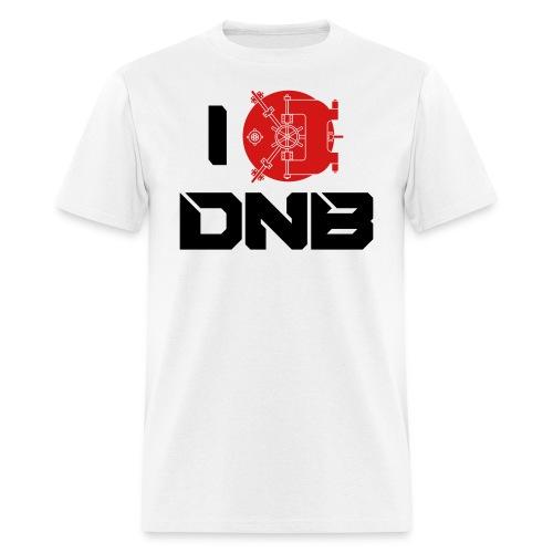 I Love DNB Vault White Men's T - Men's T-Shirt