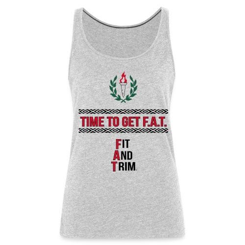 athletic slogan - Women's Premium Tank Top