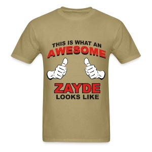 Awesome Zayde - Men's T-Shirt