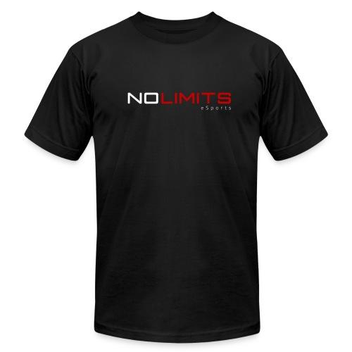 T-shirt preta com estampa NL eSports - Men's Fine Jersey T-Shirt