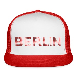 BERLIN dots-font - Trucker Cap