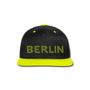 BERLIN dots-font - Snap-back Baseball Cap