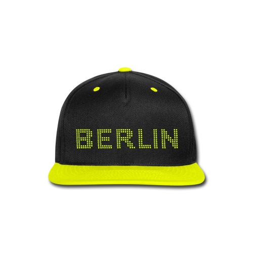 BERLIN dots-font - Snap-back Baseball Cap
