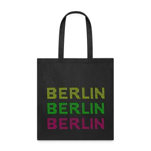 BERLIN dots-font - Tote Bag