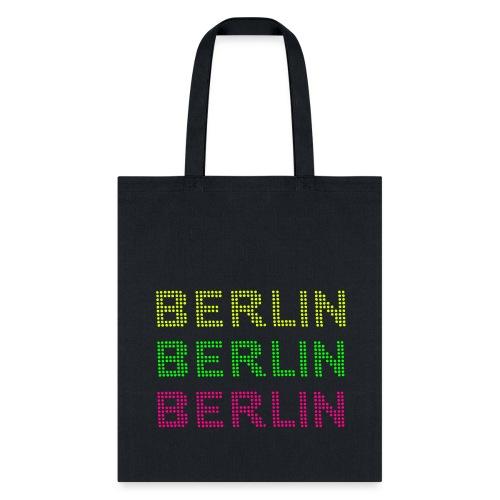 BERLIN dots-font - Tote Bag