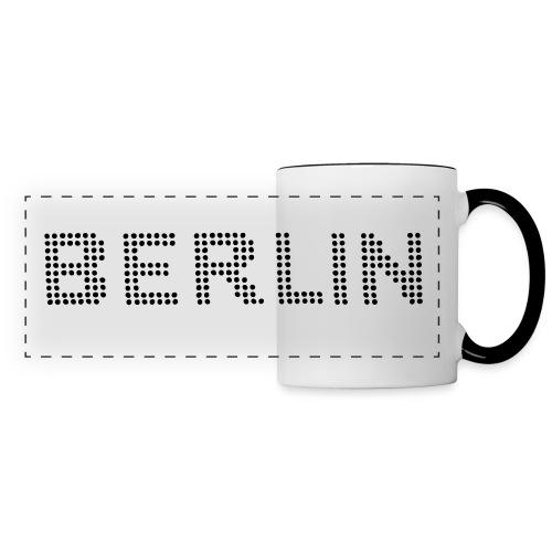 BERLIN dots-font - Panoramic Mug