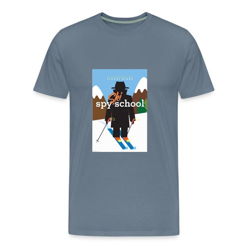 Ski Spy School - Men's Size - Men's Premium T-Shirt