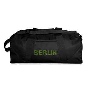 BERLIN dots-font - Duffel Bag