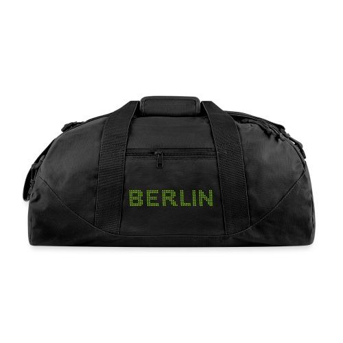 BERLIN dots-font - Duffel Bag
