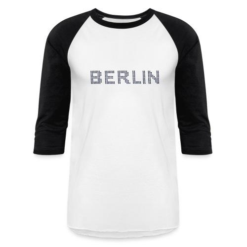 BERLIN dots-font - Baseball T-Shirt