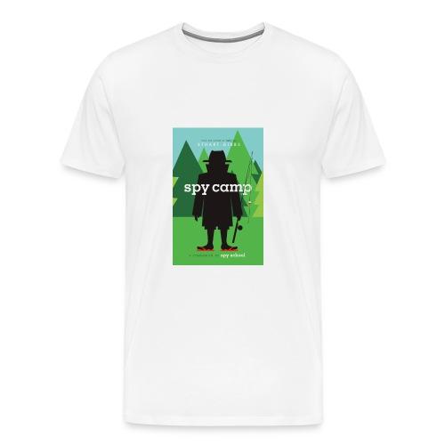 Spy Camp - Men's Size - Men's Premium T-Shirt