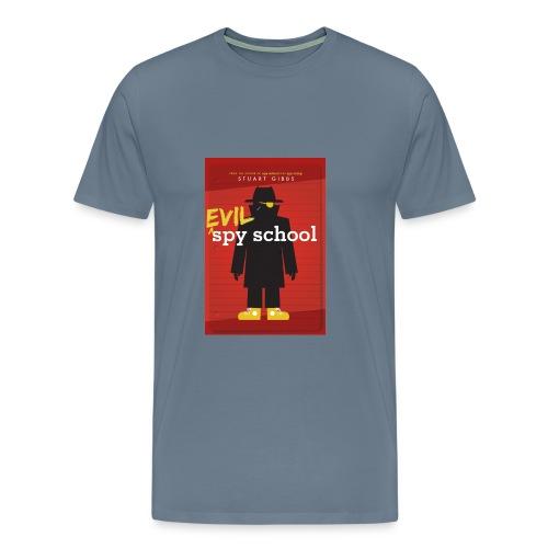 Evil Spy School - Men's Size - Men's Premium T-Shirt