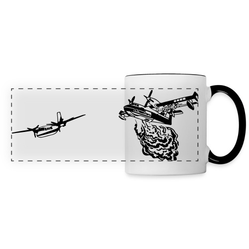 CL215T and Turbo Commander WHITE MUG - Panoramic Mug