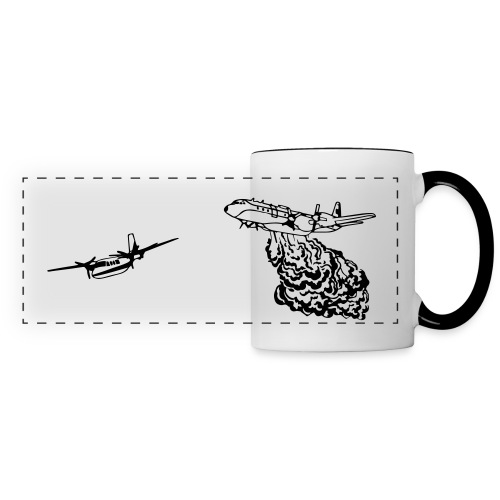 L188 Electra and Turbo Commander WHITE MUG - Panoramic Mug