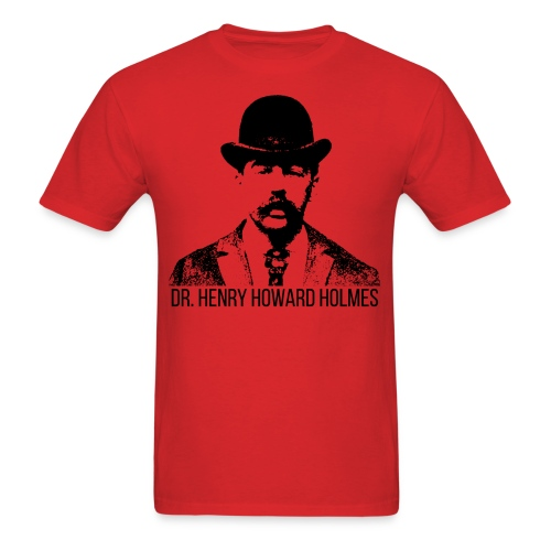 Dr-Henry-Howard-Holmes - Men's T-Shirt