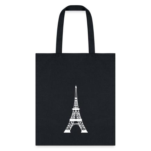 PARIS (BLACK) BAG - Tote Bag