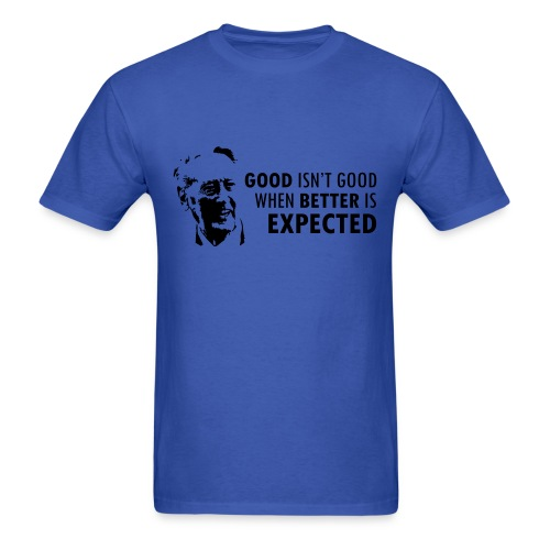 Vin Scully Quote T-Shirt - Men's T-Shirt